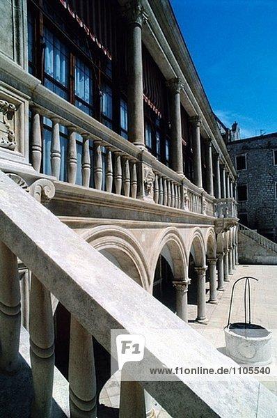 Rathaus von Sibenik. Kroatien