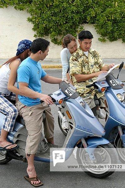 Formen des Transports. Key West  Florida. USA.