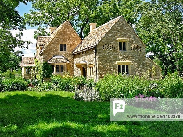 Cotswold Cottage im Historic Greenfield Village und Henry Ford Museum befindet sich an Dearborn Michigan
