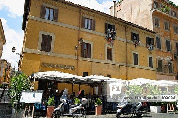 Rom Hauptstadt Italien Trastevere
