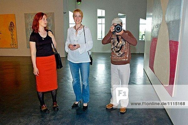 Das Kiasma Museum moderner Kunst. Helsinki. Finnland