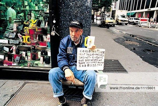 Obdachlose Usa