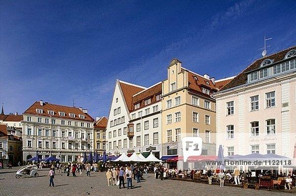 Tallinn Hauptstadt Halle Stadt Quadrat Quadrate quadratisch quadratisches quadratischer Estland alt