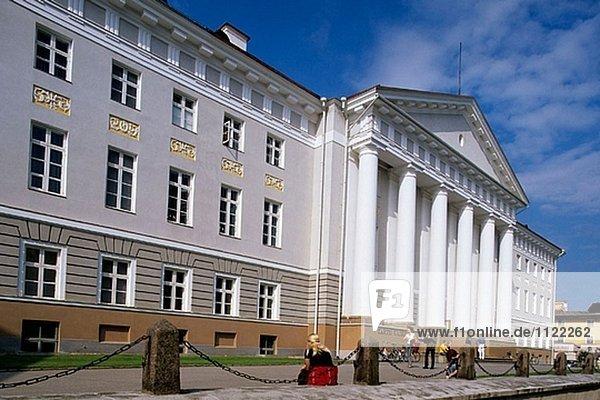 Universität. Tartu. Estland.
