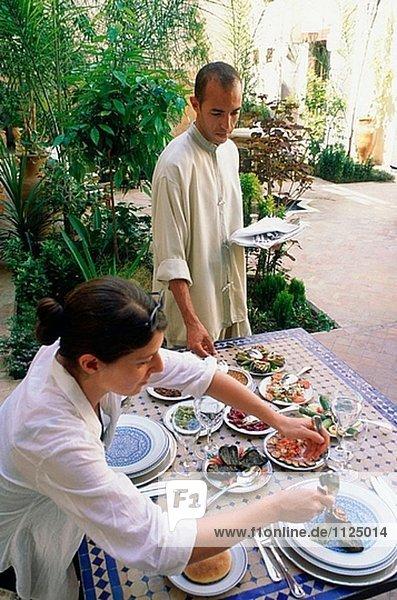 Riad Fès. Fes. Marokko.
