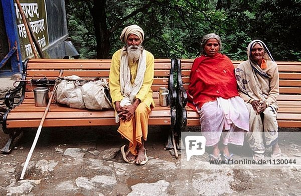 Pilger zu Kedarnath. Himalaya Garhwal  Uttarakhand. Uttar Pradesh. Indien.