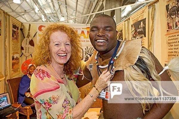 Indaba 2005 im Convention Center. Durban. KwaZulu-Natal in Südafrika. Südafrika