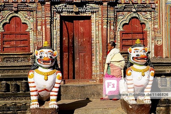 Raato Machhenranath Tempel. Patan. Kathmandu-Tal. Nepal.