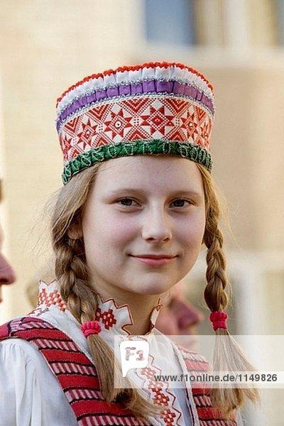 Midsummer Day  feast of St. John in Kernave. Lithuania