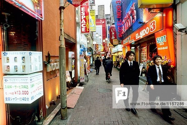 Kabuki-cho entertainment district  Shinjuku. Tokyo. Japan