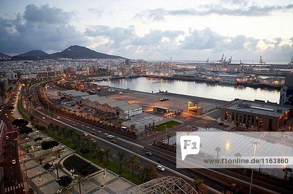 Puerto De La Luz  Las Palmas  Grand Canary  Kanarische Inseln