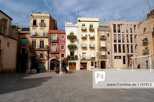Plaça del Rei  Tarragona. Katalonien  Spanien
