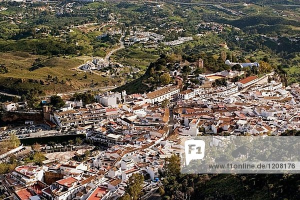 Andalucia,Andalusien,Außen,Dach,Dorf