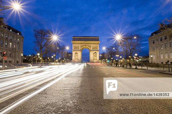 France  Paris  Arc de Triomphe  Charles de Gaulle square