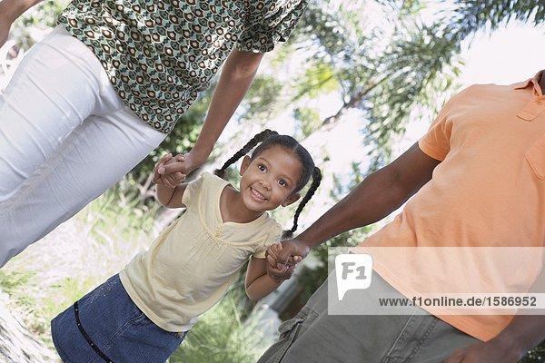Afroamerikanische Familie