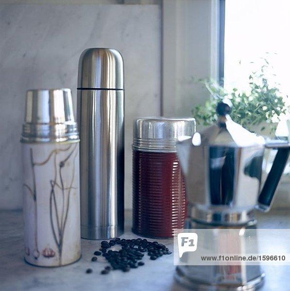 Kaffeebohne Maschine Thermoskanne 1 3 Kaffee Bohne Espresso