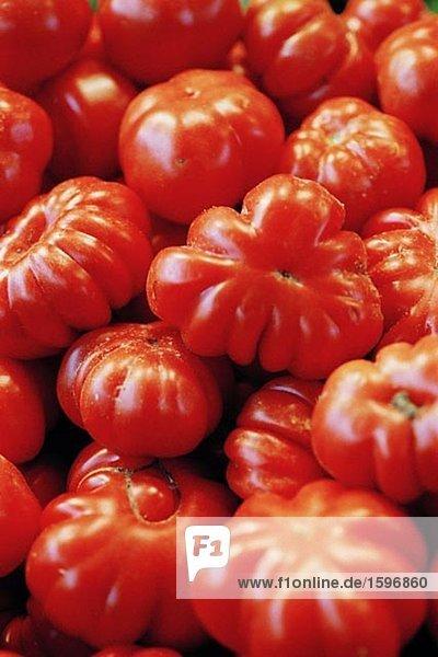 Nahaufnahme Tomaten.