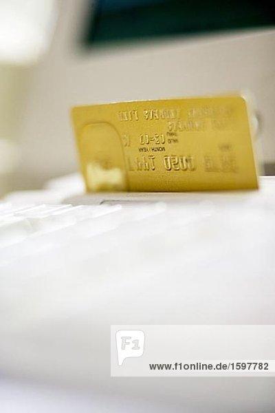 Kreditkarte Stockholm Schweden.