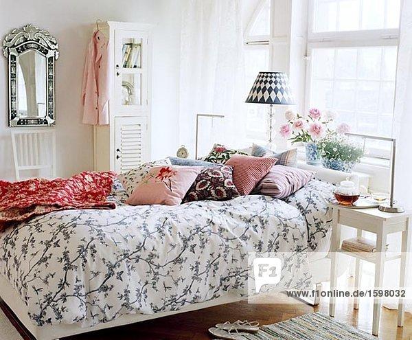 Beleuchtung Licht Schlafzimmer Bett