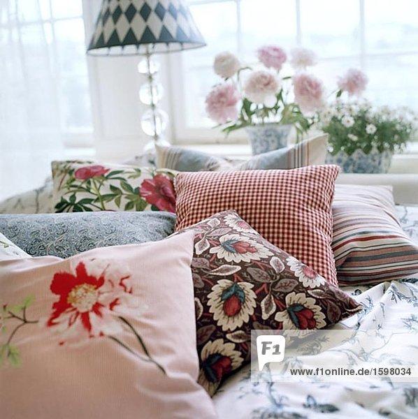 Bett Kissen