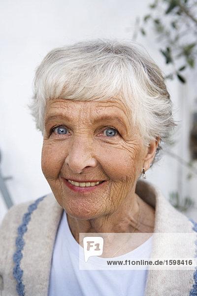 Portrait einer Frau-Schweden.