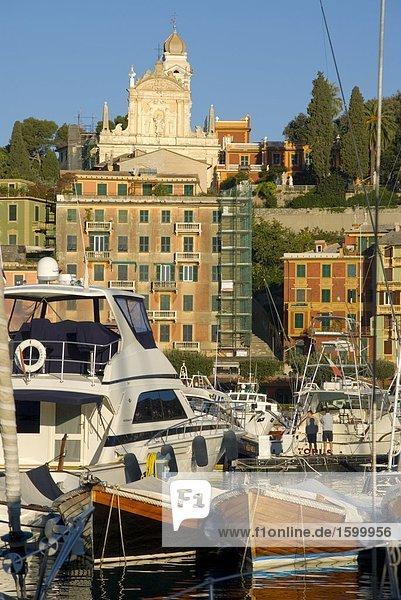 Italien Ligurien Ligurisches Meer Santa Margherita Ligure