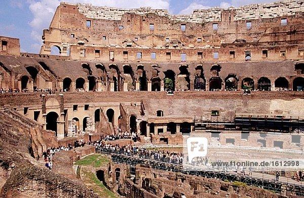 Colosseum Innenraum. Rom. Italien