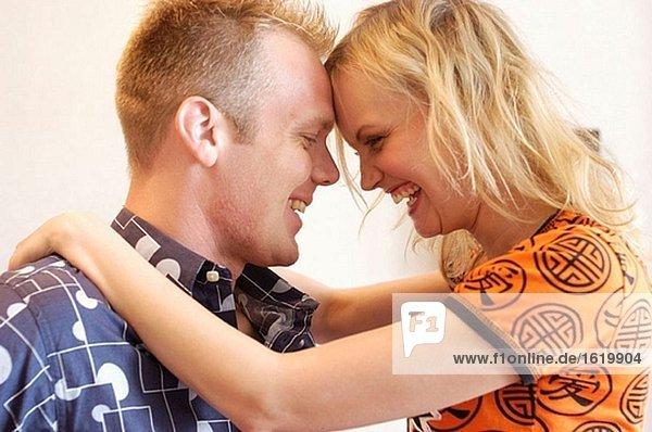 verliebtes Paar (Profil)