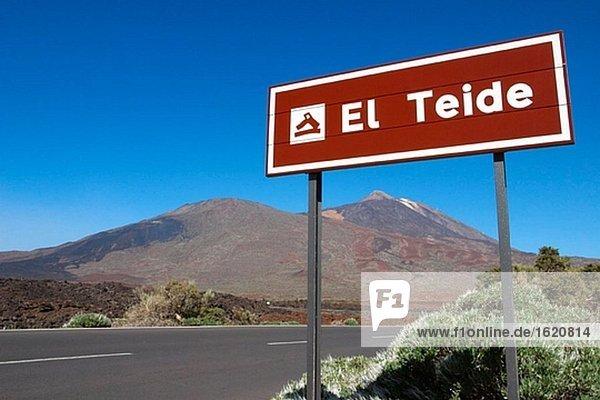 Teide Nationalpark. Teneriffa. Kanarischen Inseln. Spanien