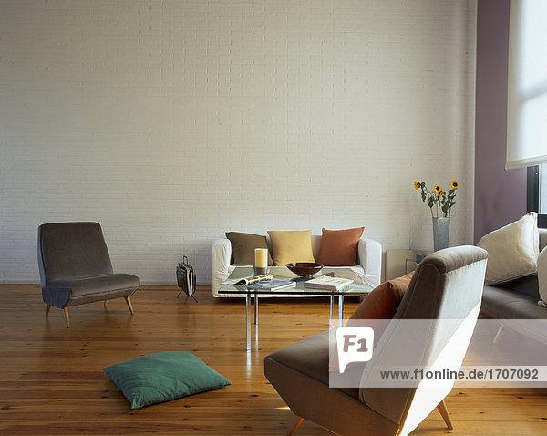 Zimmer Ansicht Wohnzimmer