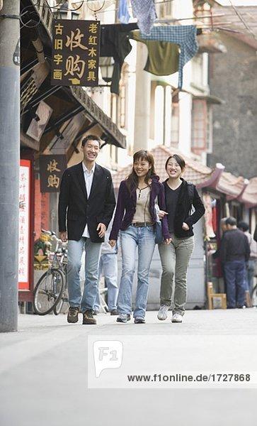 Freunde städtischen Straße