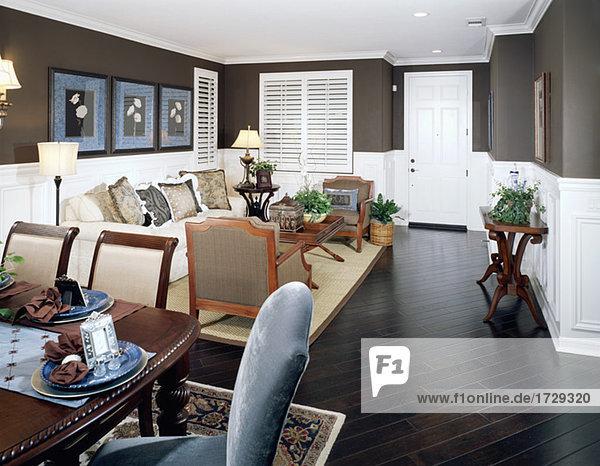 Boden Fußboden Fußböden Wand Dunkelheit Zimmer Gemütlichkeit Wohnzimmer braun