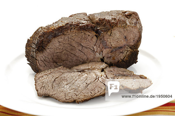 Roastbeef auf Teller