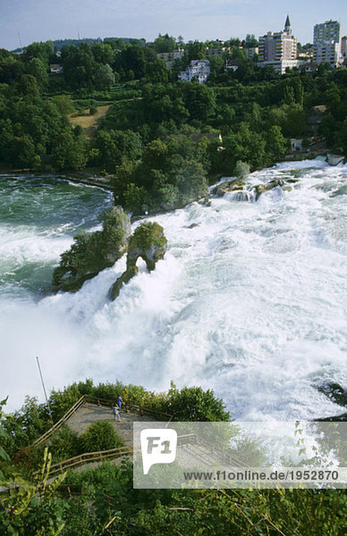 Schaffhausen  Rhein  Wasserfälle