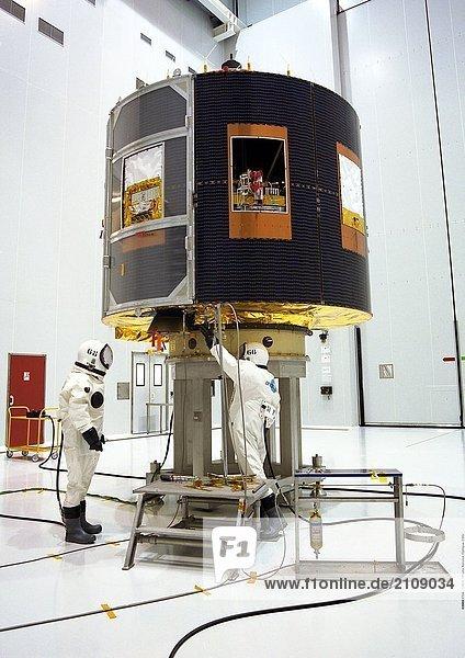 Wissenschaftler Ariane 5 G Space Center