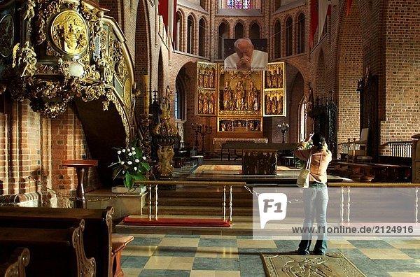 Kathedrale von Ostrów Tumski. Posen. Niederschlesien  Polen.