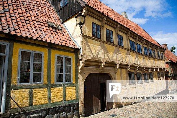 Tradition Gebäude Architektur Dänemark Museum Glücksspiel Höhle Arhus Jütland alt