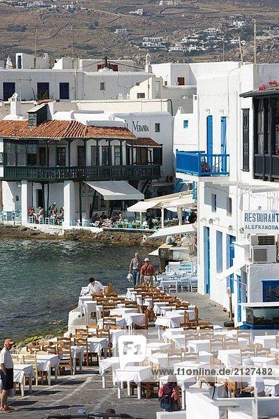 Griechenland. Kykladen. Mykonos.
