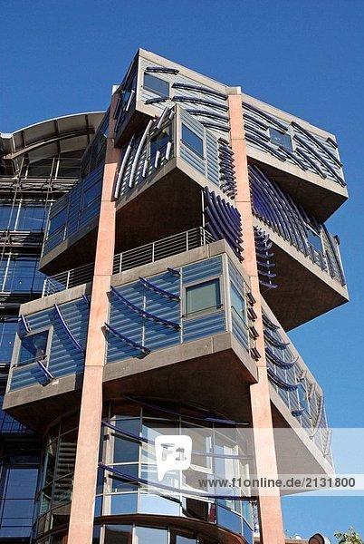 WDR Arkaden,  Office,  Architekt Gottfried Boehm,  Köln,  NRW,  Deutschland