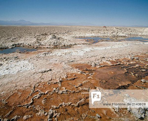 Salar de Atacama. Atacama-Wüste. Chile