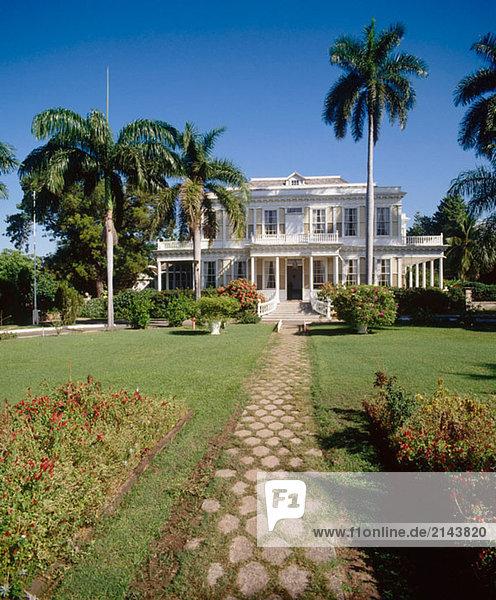 Devon House. Kinsgton. Jamaika