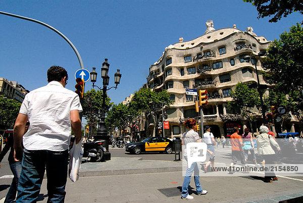 Wohnhaus Barcelona Spanien