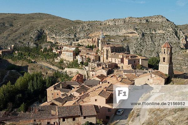Albarracin. Provinz Teruel  Aragon  Spanien