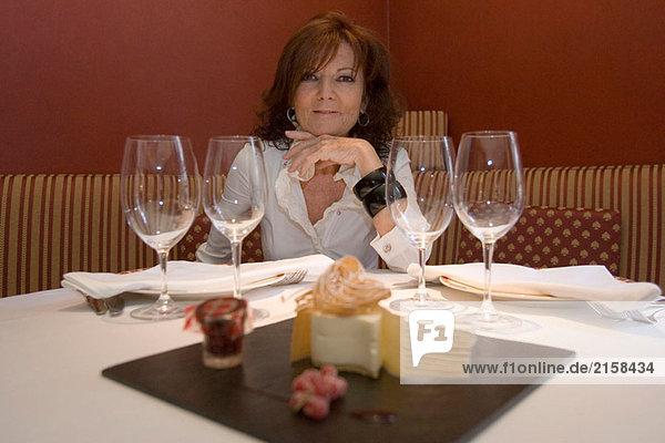 Käsekuchen  ´Hofmann Restaurant und kochen School´  Carrer Argenteria 9  El Born  Barcelona  Spanien