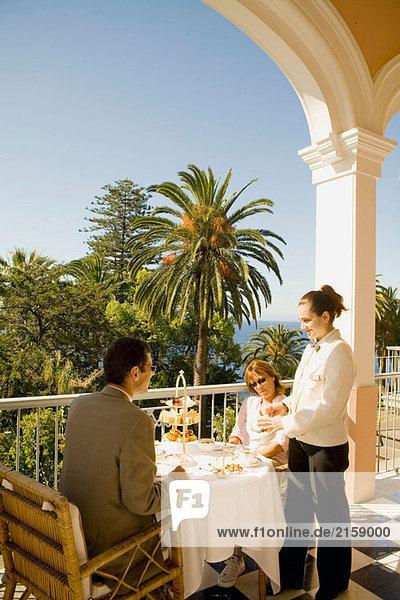 Historische und luxuriöse Reid´s Hotel in Funchal. Insel Madeira. Portugal