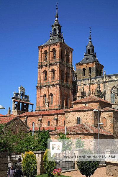 Spain  Castilla Leon  Astorga  cathedral