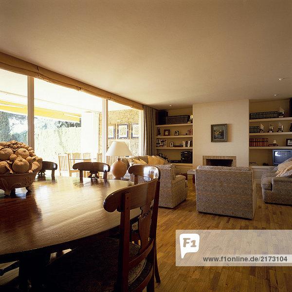 Eleganz Zimmer Ansicht Wohnzimmer