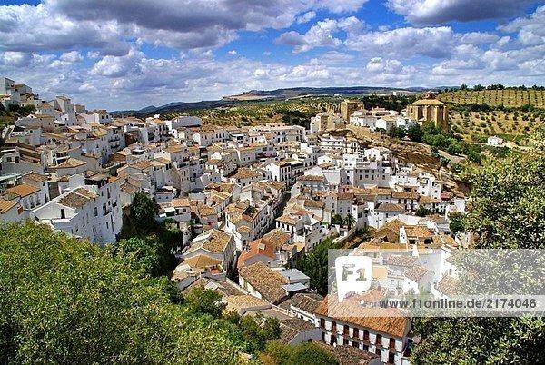 Dorf Cadiz Spanien