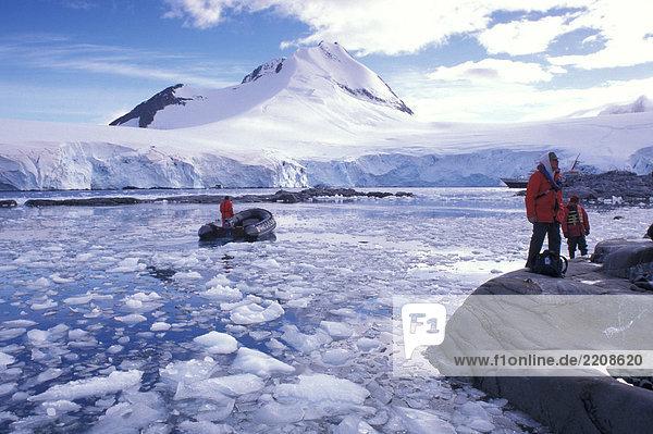 Der Antarktischen Halbinsel  Port Lockroy