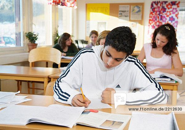 Schreiben im Klassenzimmer